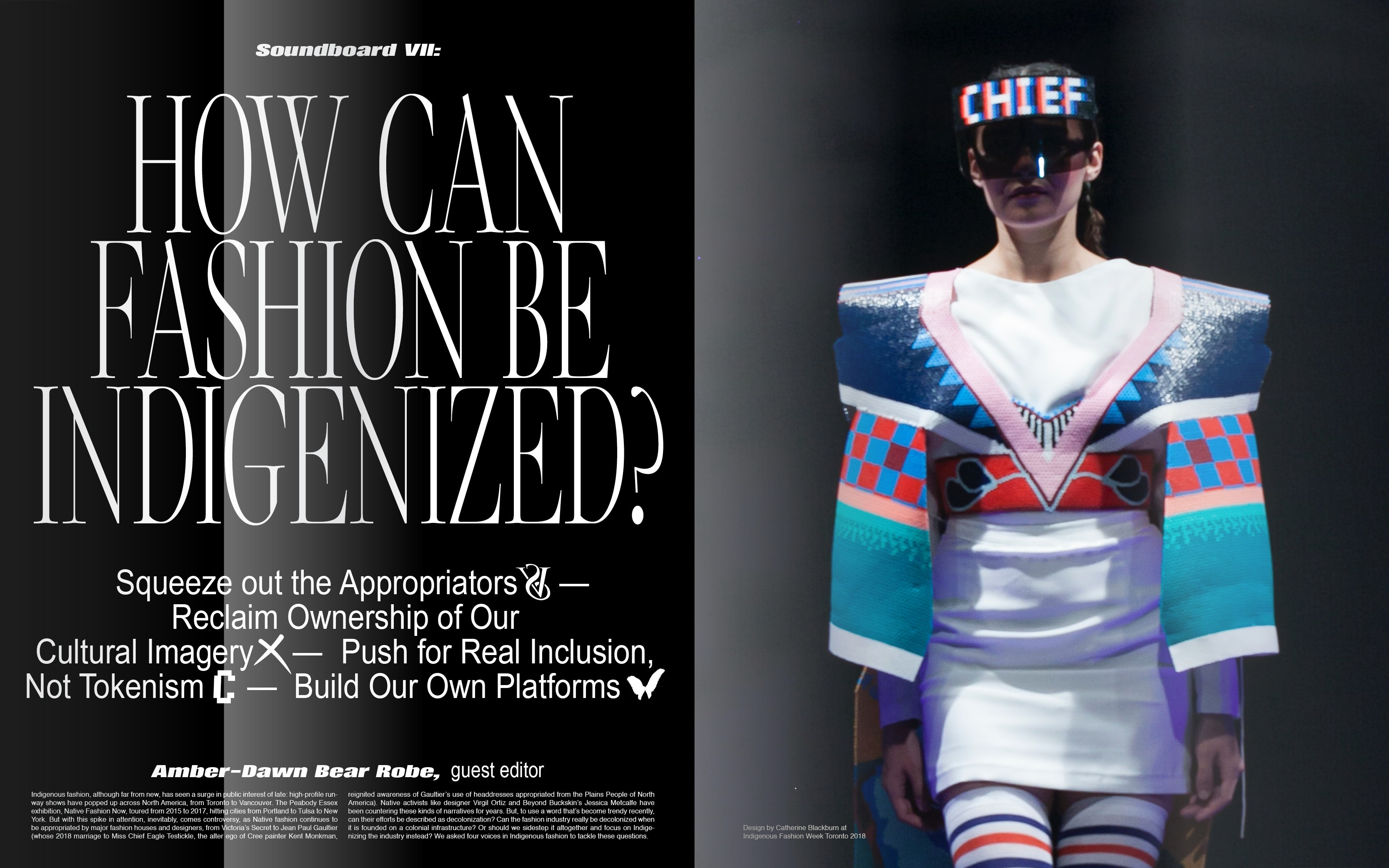 Indigenizing Fashion Push For Real Inclusion Not Tokenism