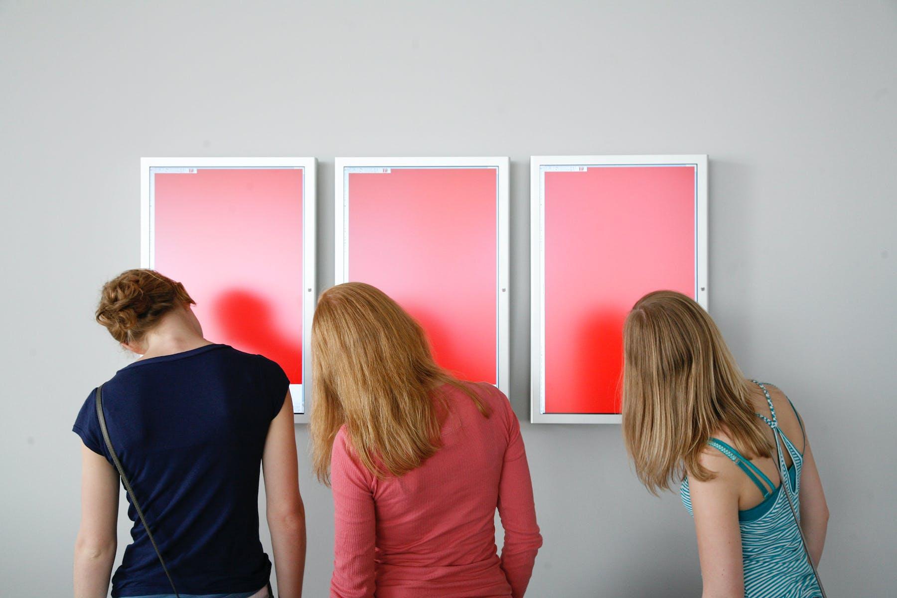 Hito Steyerl, Red Alert, 2007 (installation view)