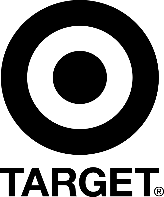 Target (with text)