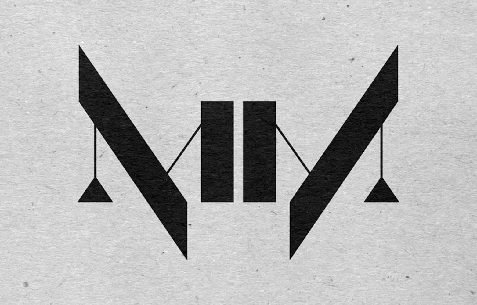 Geometric logo fo band Nine Inch Nails