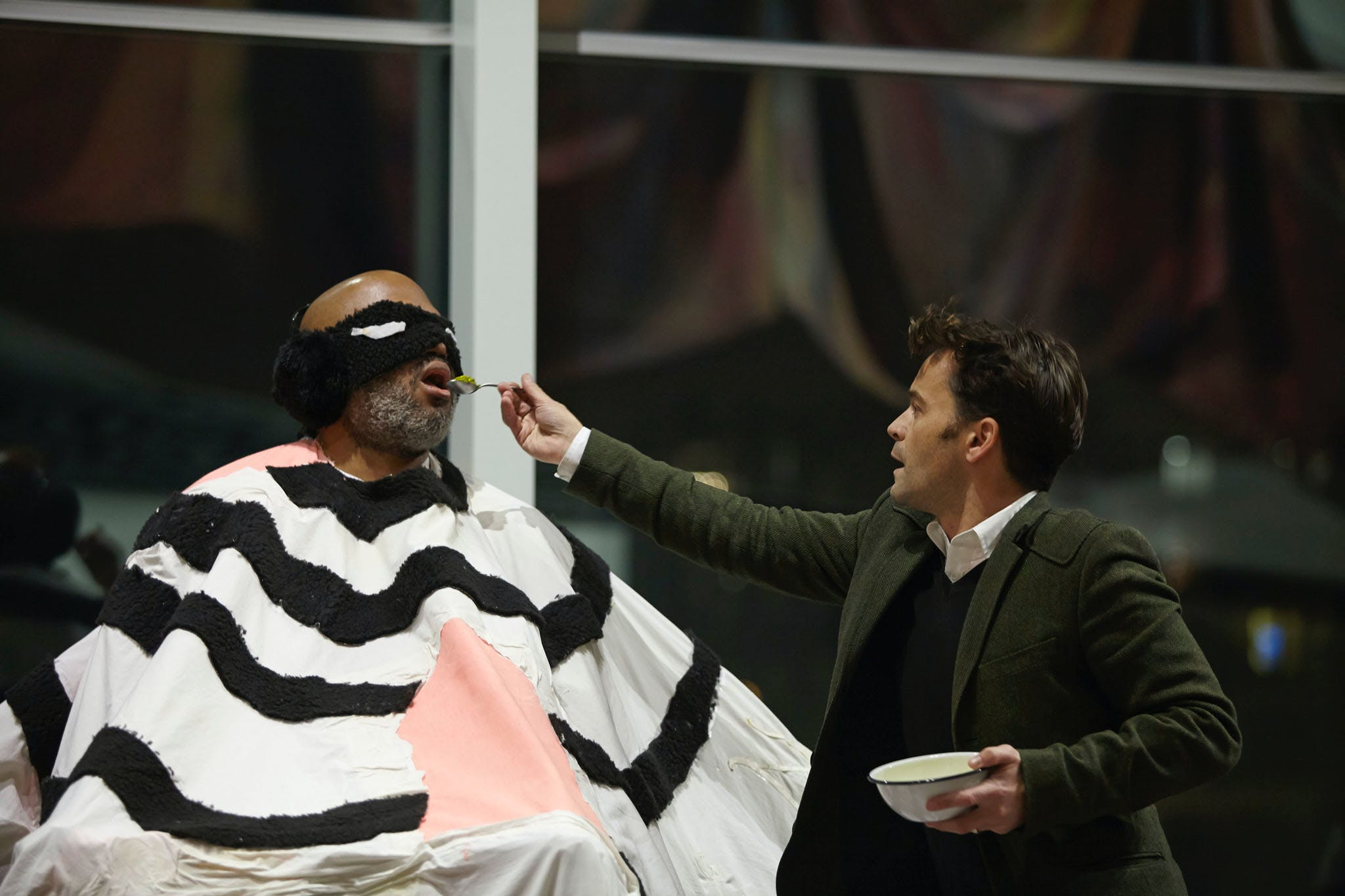 Trenton Doyle Hancock, Devotion, 2013; part of the exhibition Radical Presence: Black Performance in Contemporary Art, 2014