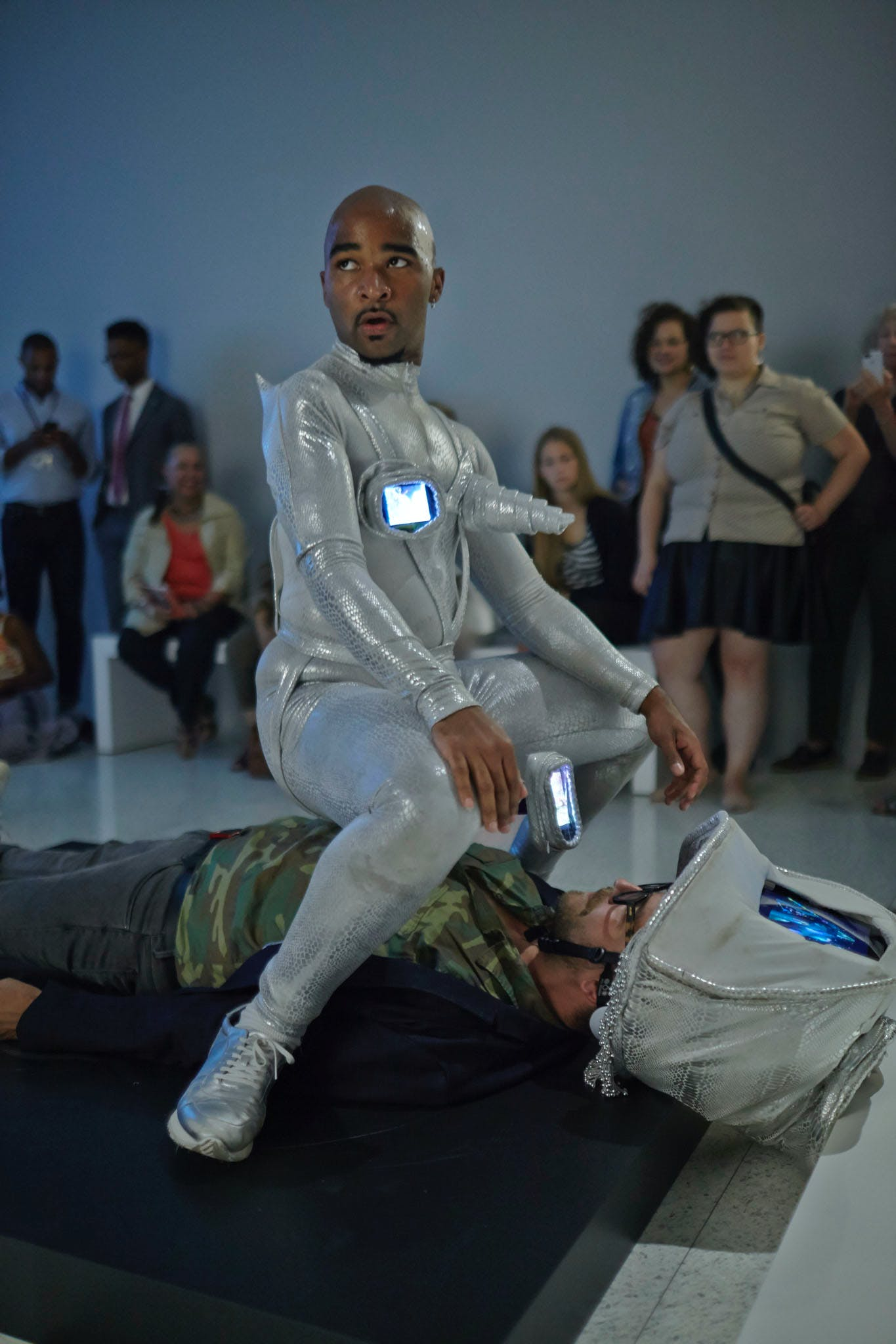 Jacolby Satterwhite, Orifice, 2010-2012; part of the exhibition Radical Presence: Black Performance in Contemporary Art, 2014