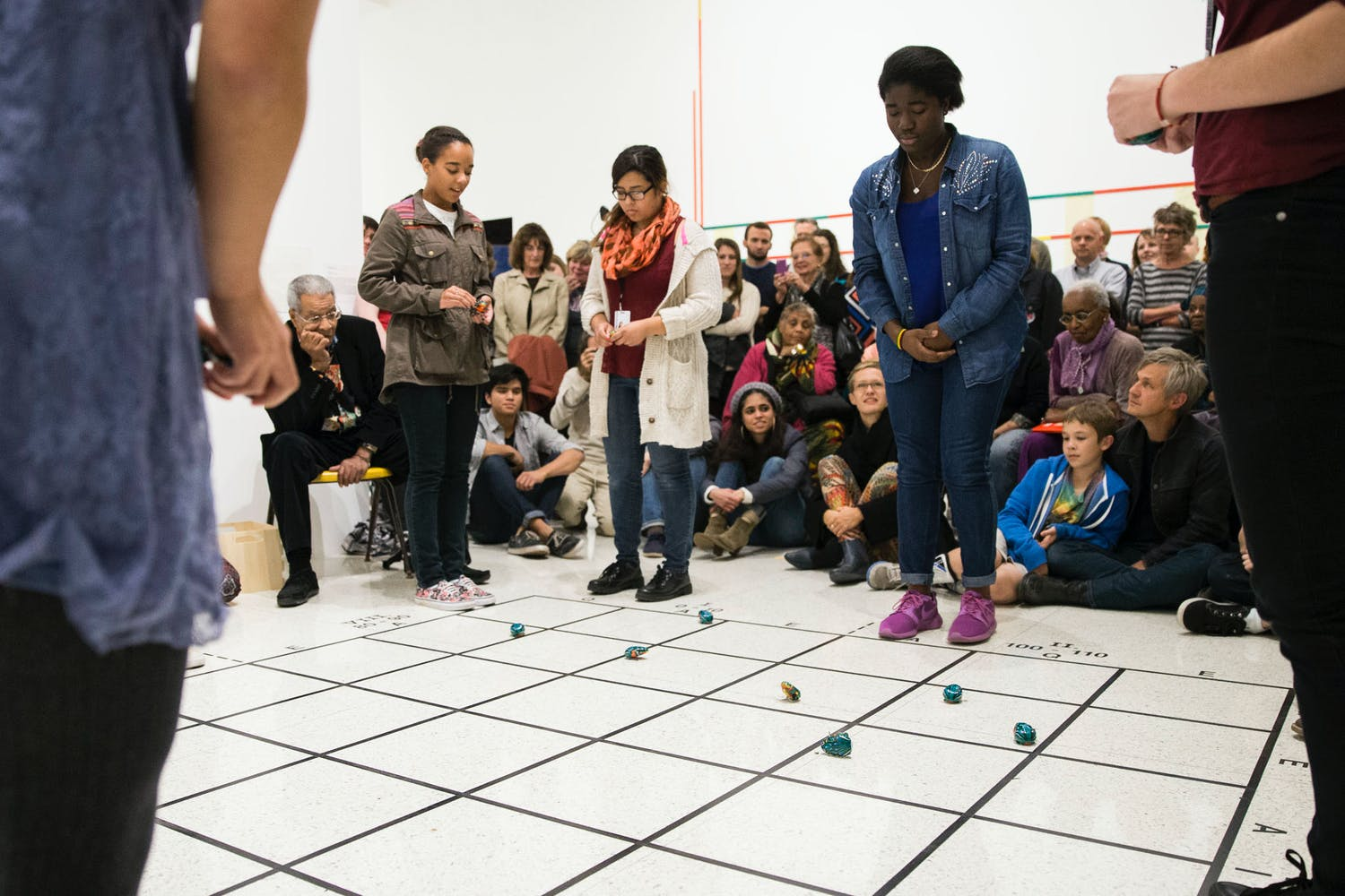 Benjamin Patterson, Pond, 1962; part of the exhibition Radical Presence: Black Performance in Contemporary Art, 2014