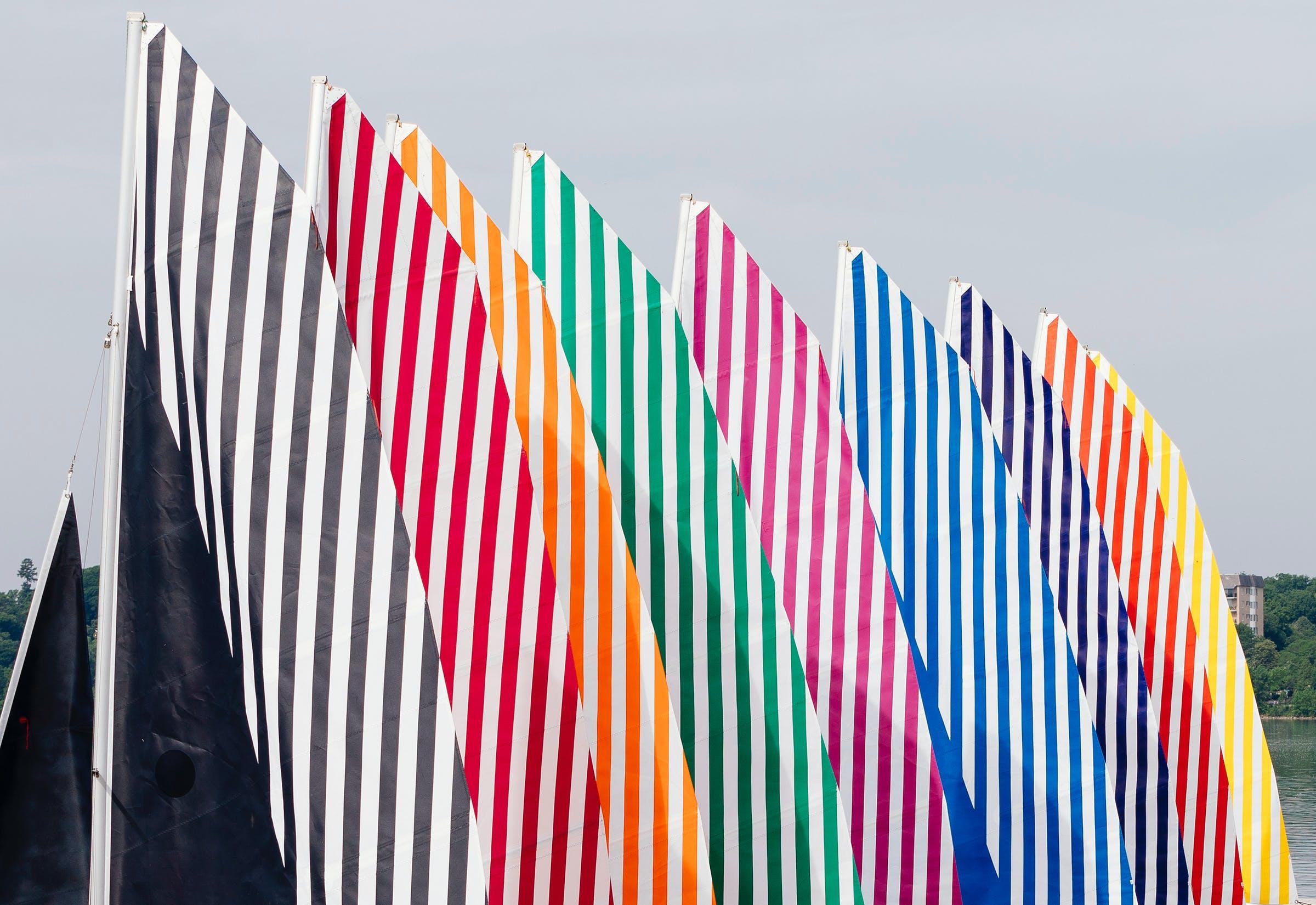 Daniel Buren's sails