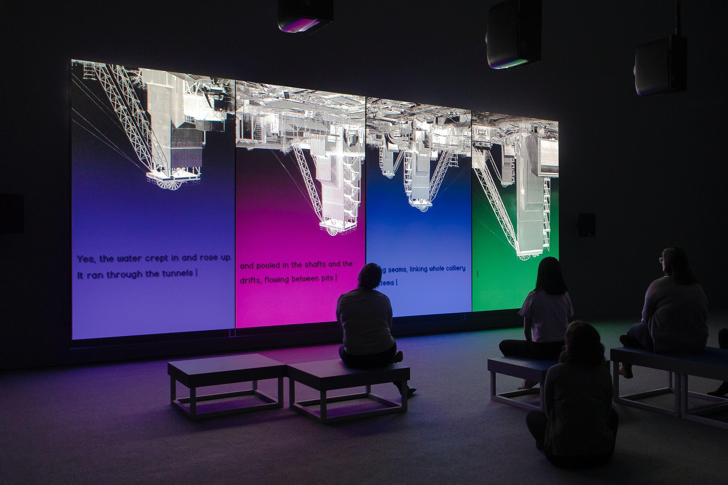 Elizabeth Price exhibition view