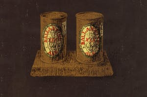etching of cans