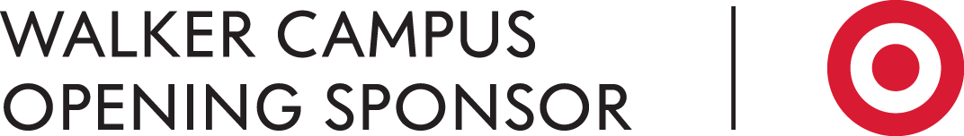 Walker Campus Opening Sponsor/Target logo